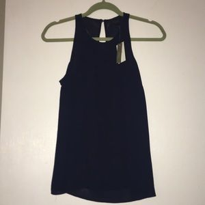 New with tags -jcrew women's shirt - navy -size 0